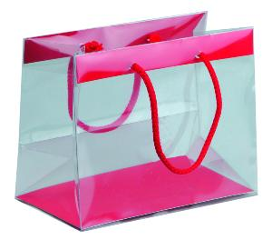 SAC A SOUFFLETS TRANSPARENT